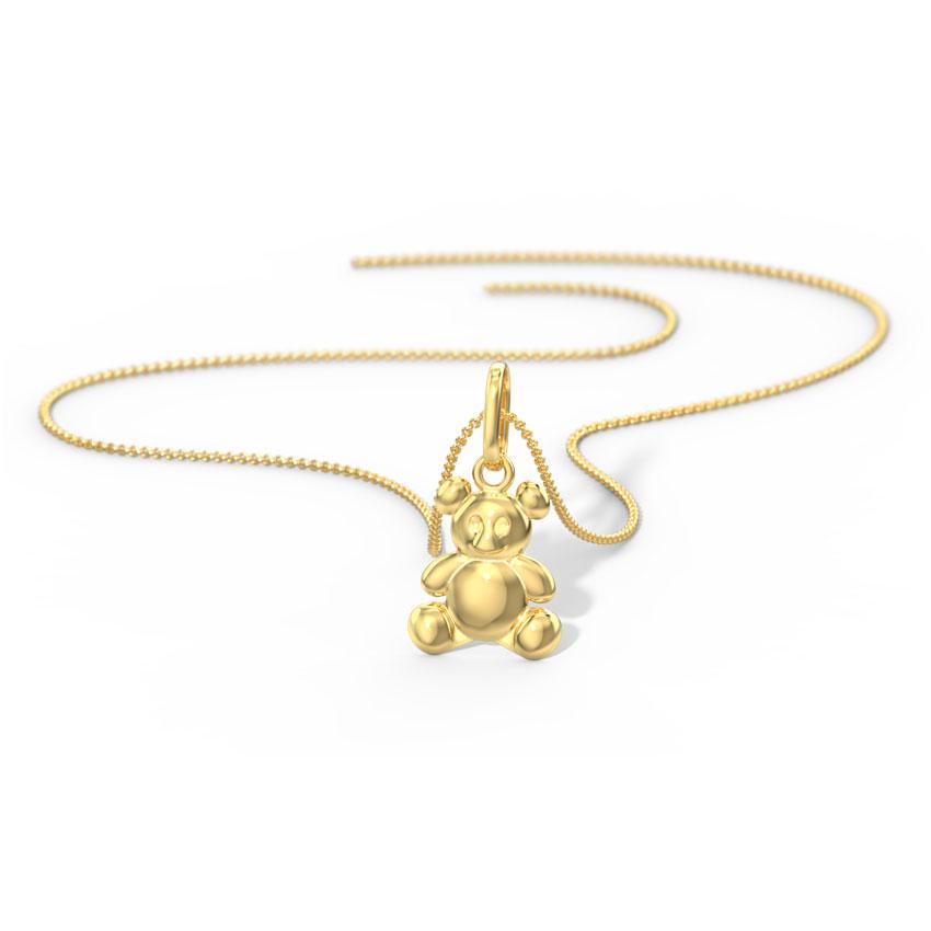 Golden Bear Pendant