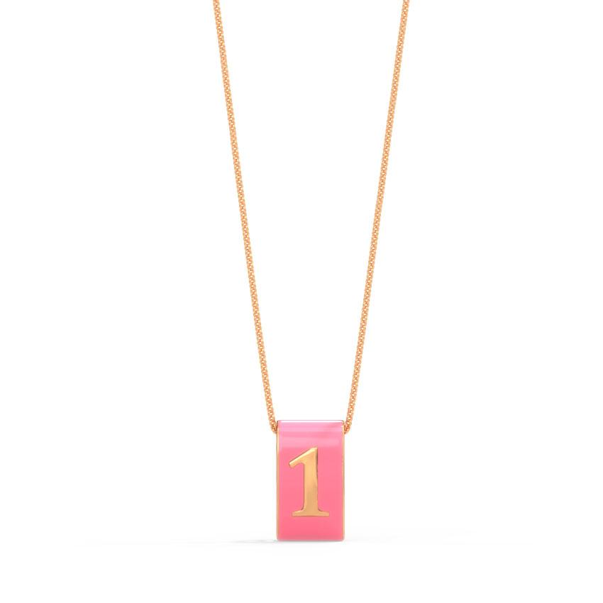 Number 1 Vibrant Pendant