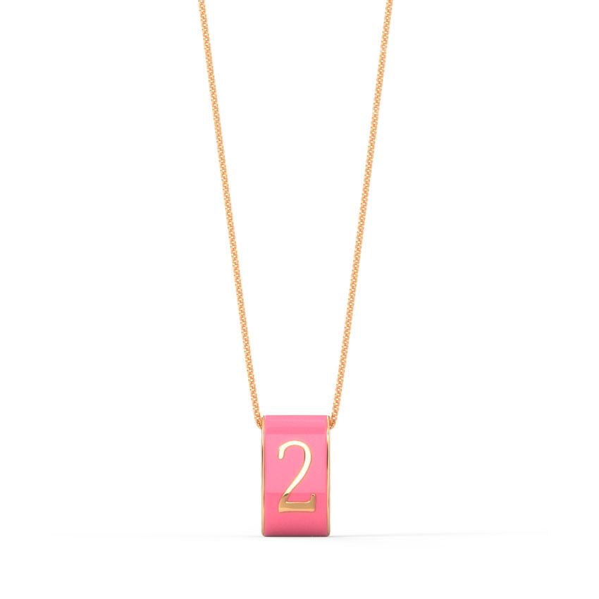 Number 2 Vibrant Pendant