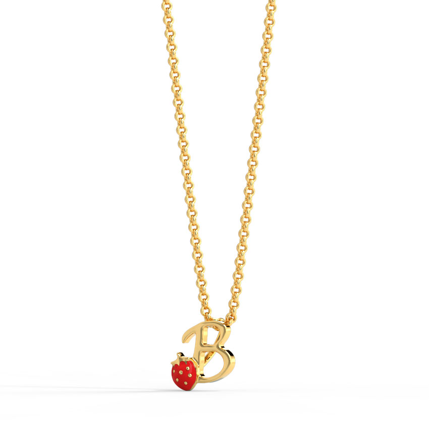 Berry Alphabet B Kids' Pendant