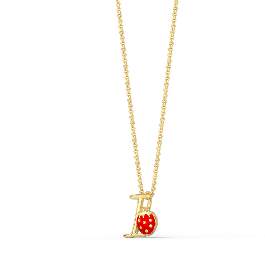 Berry Alphabet I Kids' Pendant