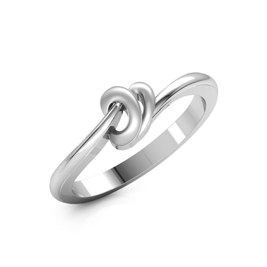 Circles of Joy Platinum Ring