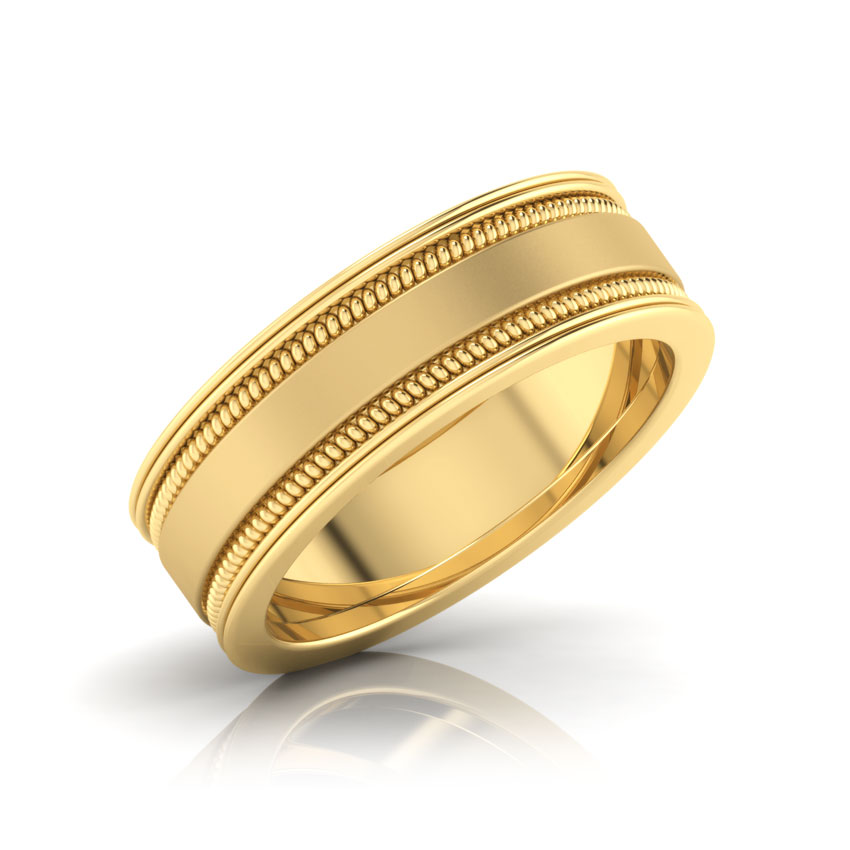 Derwin Gold Band for Him