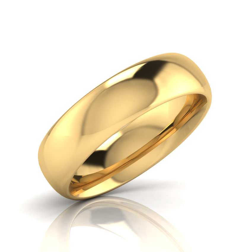 Carney Gold Band for Him Jewellery India line CaratLane