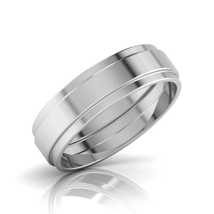 Elbert Gold Band for him