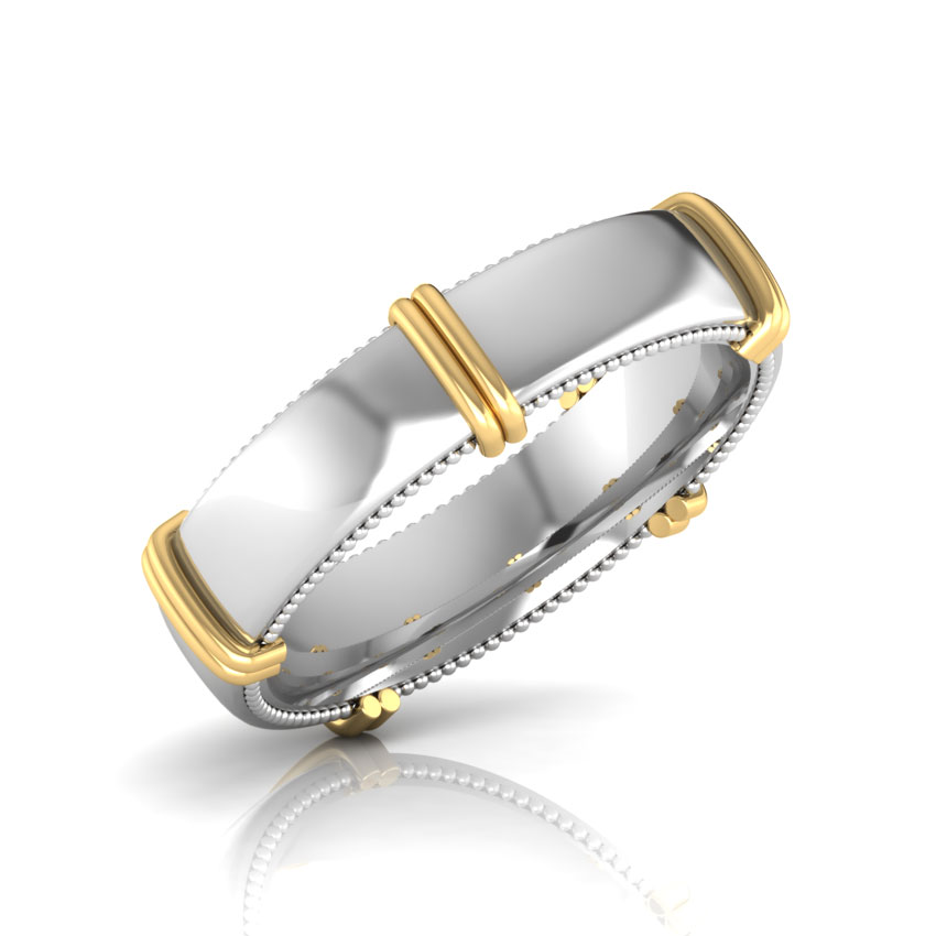 Brooke Gold Band for Him