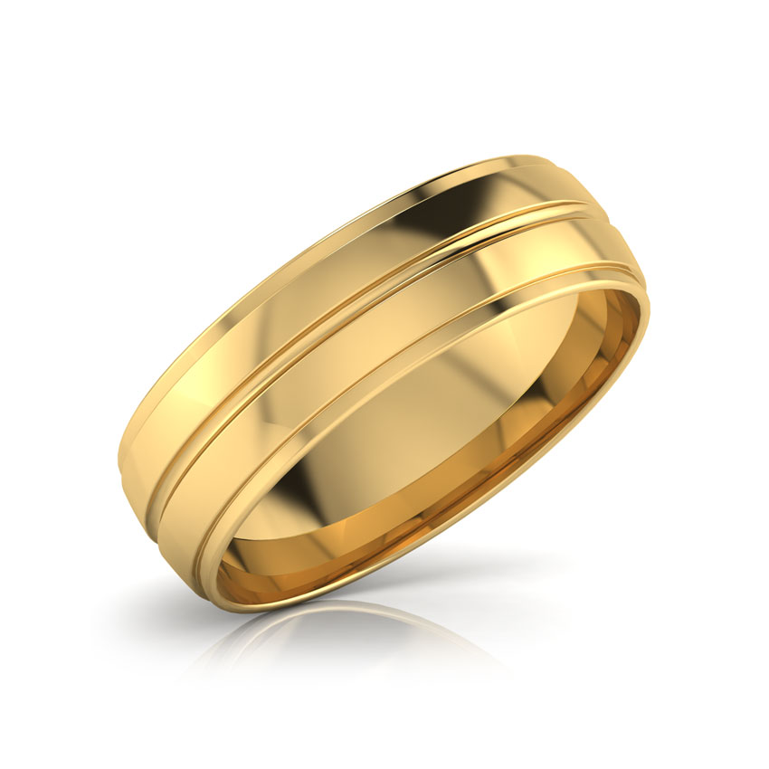 Teo Gold Band for Him