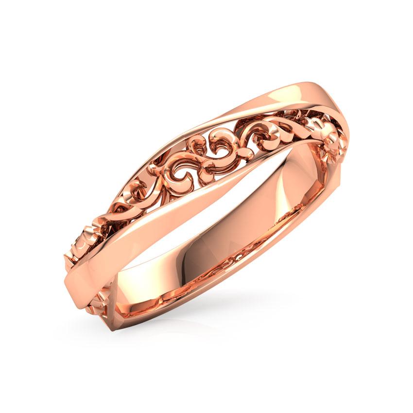 Alternated Filigree Ring