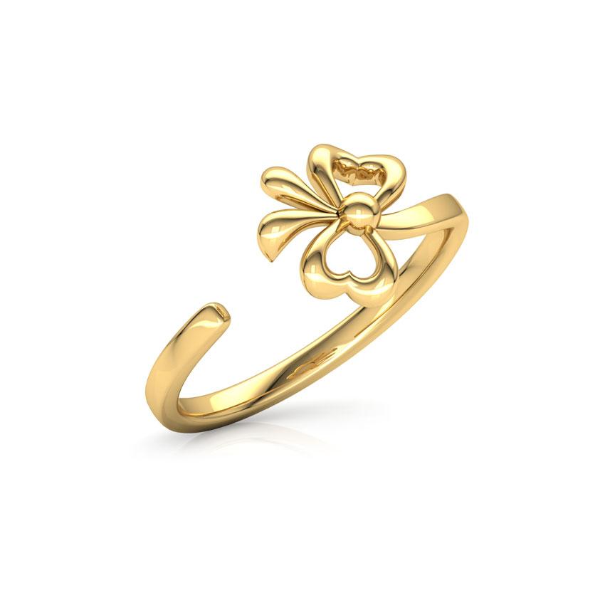Bow Midi Ring