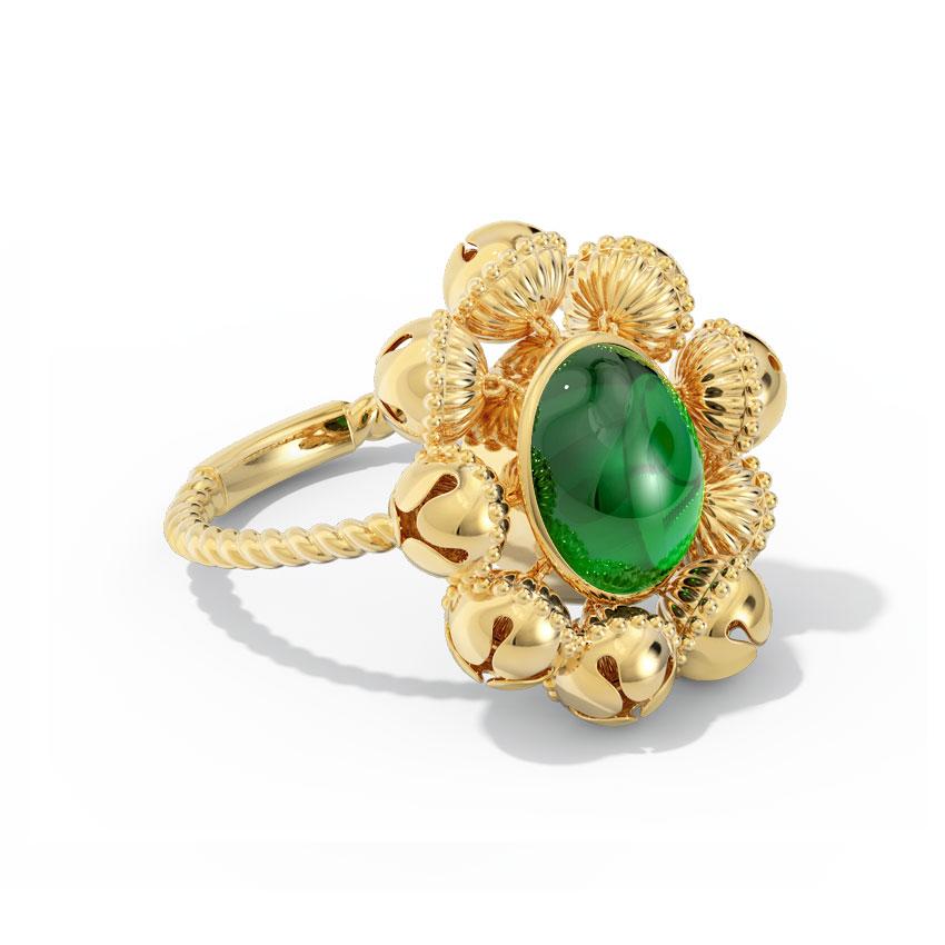 Prachi Gold Ring