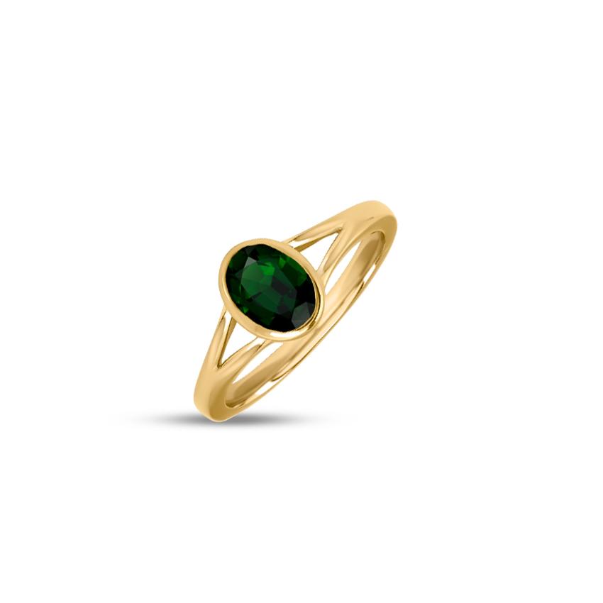 Gold,Gemstone Rings 18 Karat Yellow Gold Natalie Gemstone Ring