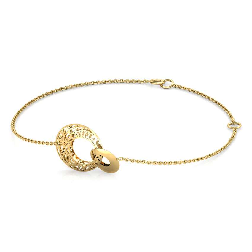 Elle Interlooped Cutout Bracelet