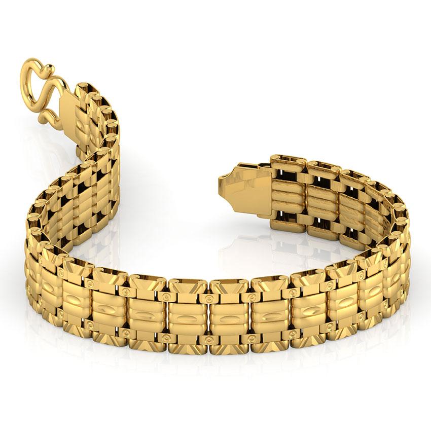 Geometric Repeat Men's Bracelet