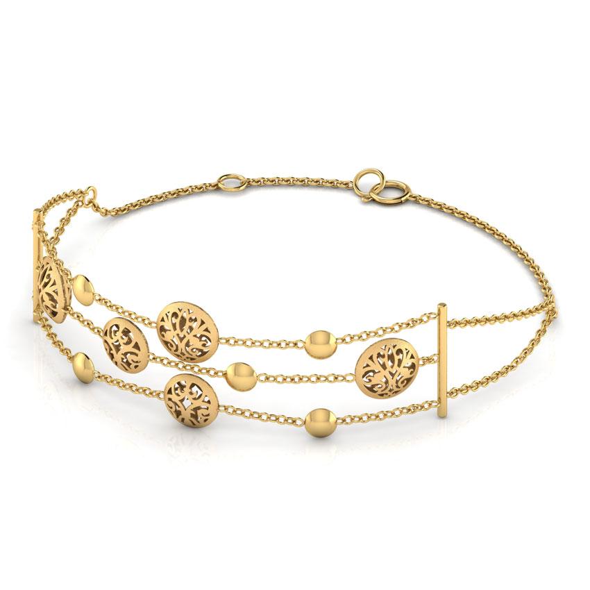 Charlotte 3 Row Bracelet