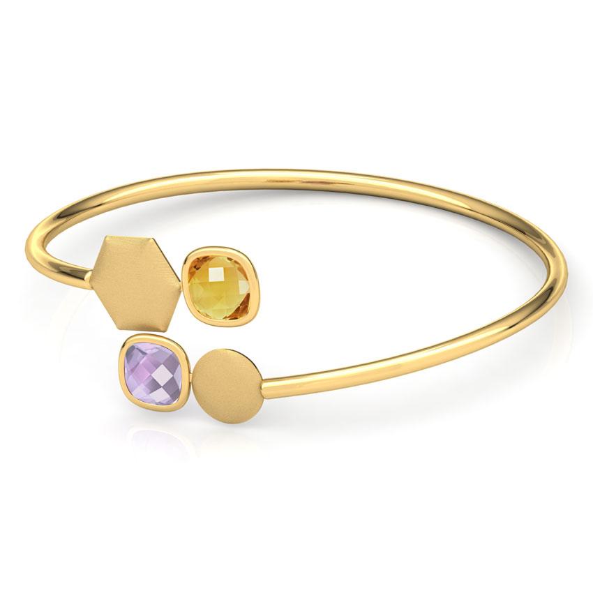 Nia Stamped Bracelet