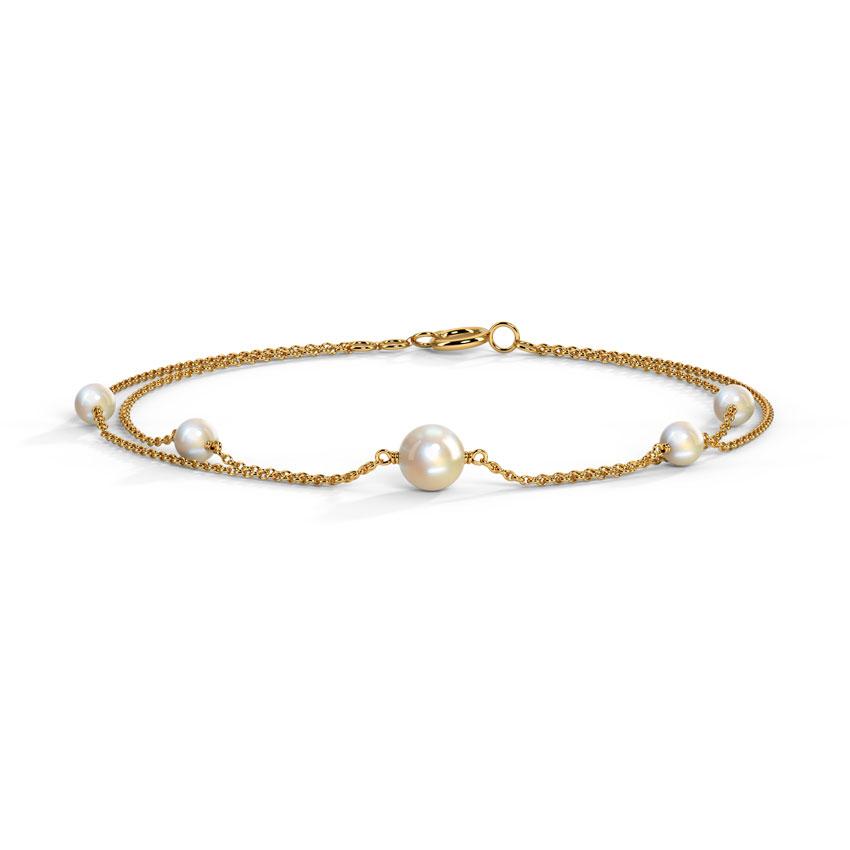 Station Pearl Bracelet