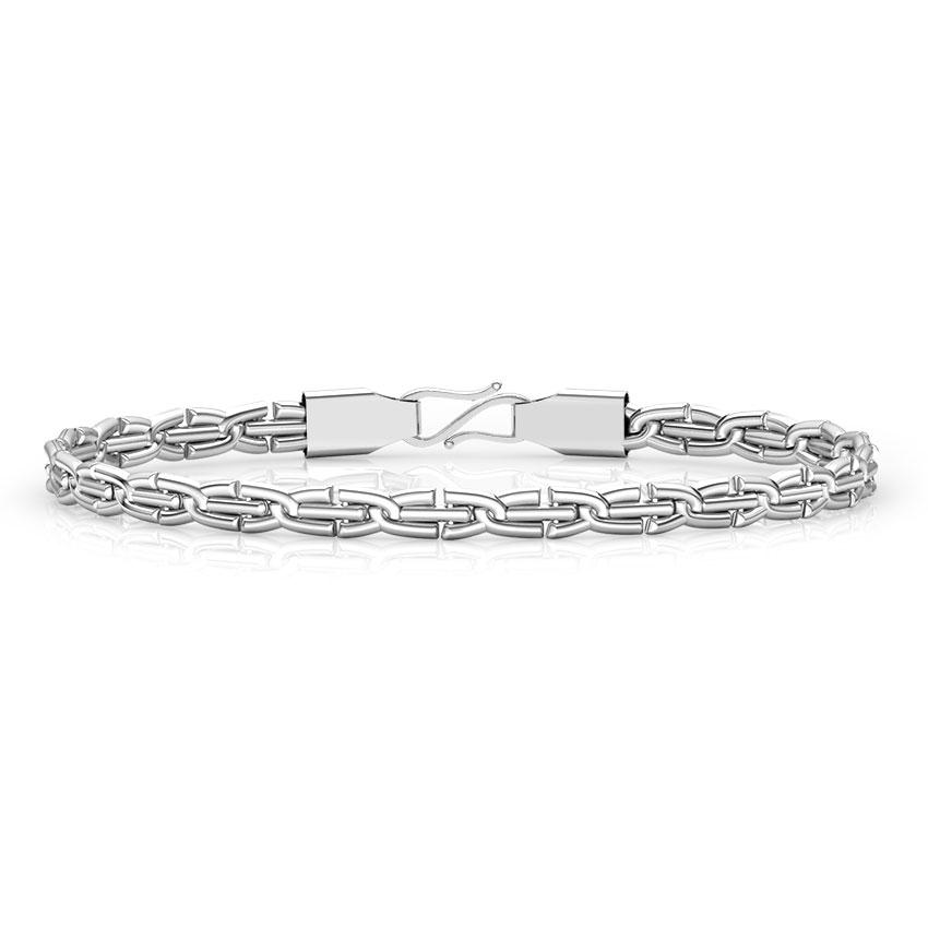 Virtue Platinum Link Bracelet