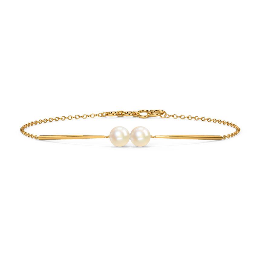 Duo Pearl Bracelet