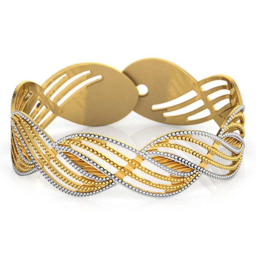 Twine Gold Bracelet