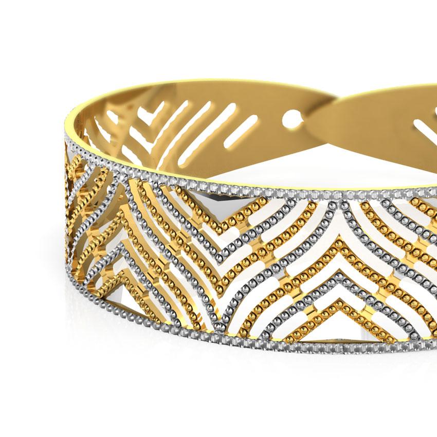 Arch Gold Bracelet
