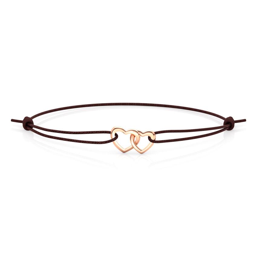 Entwined Heart Bracelet