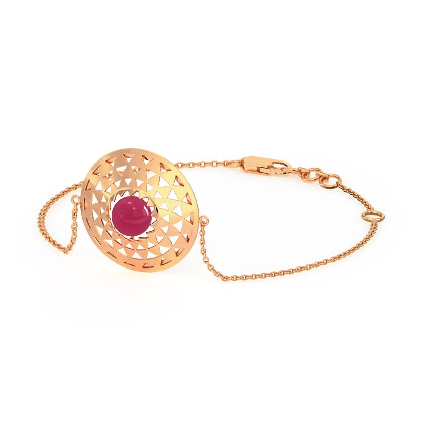 Symmetric Ornate Bracelet