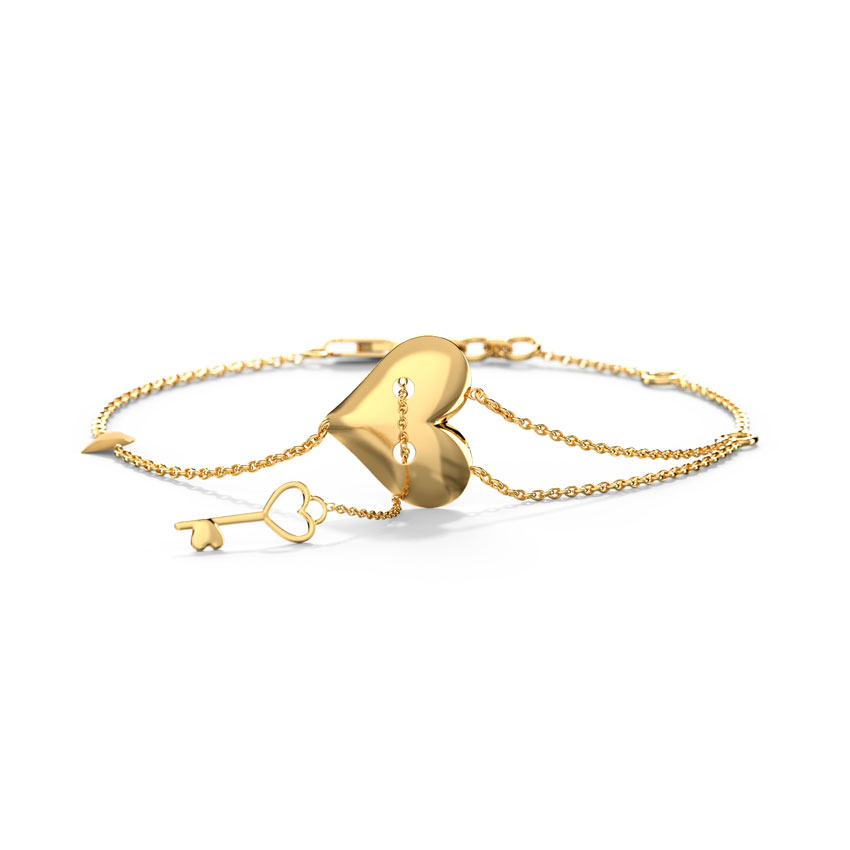 Admire Love Lock Bracelet