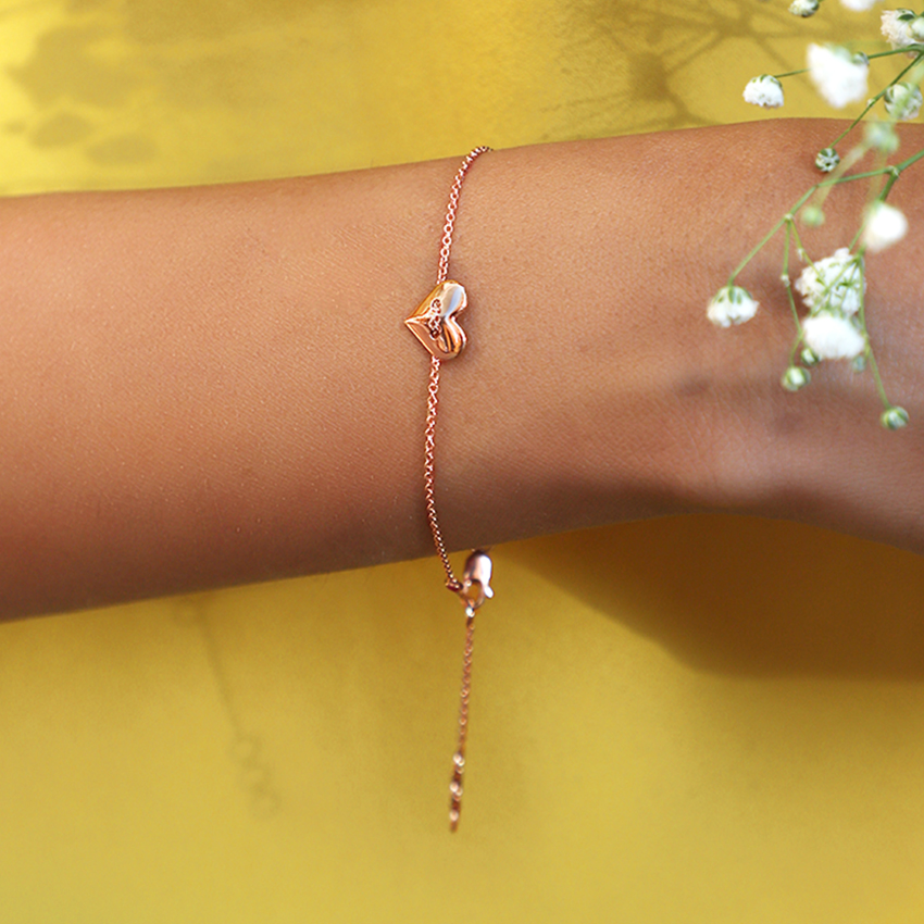 Cherish Love Lock Bracelet