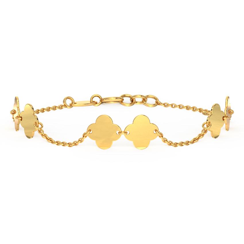 Duo Clover Bracelet