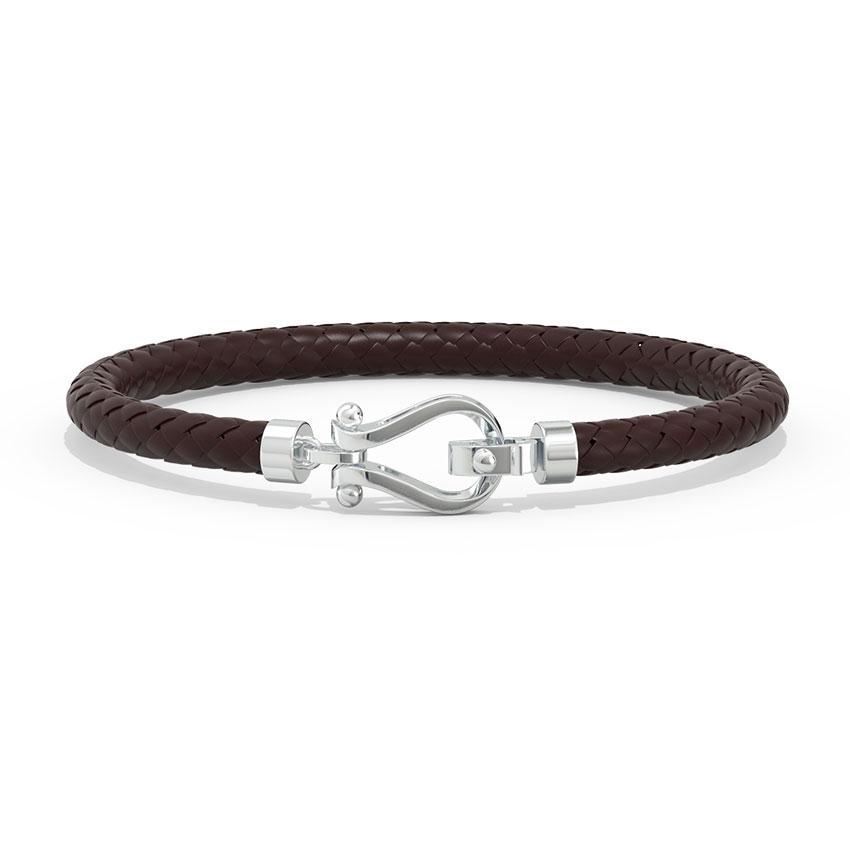Lucas Platinum Bracelet for Him