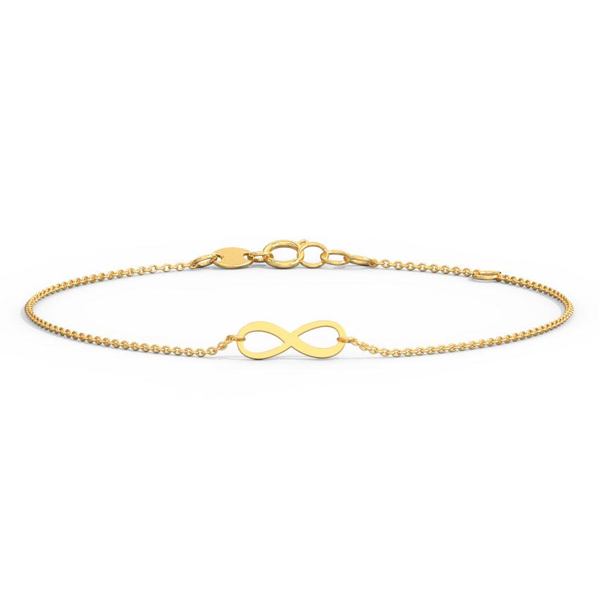 Minimalistic Infinity Bracelet