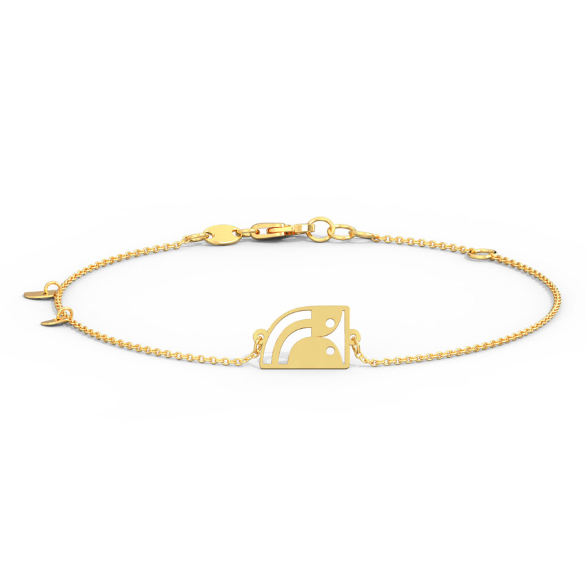 Minimalistic Motifs Bracelet