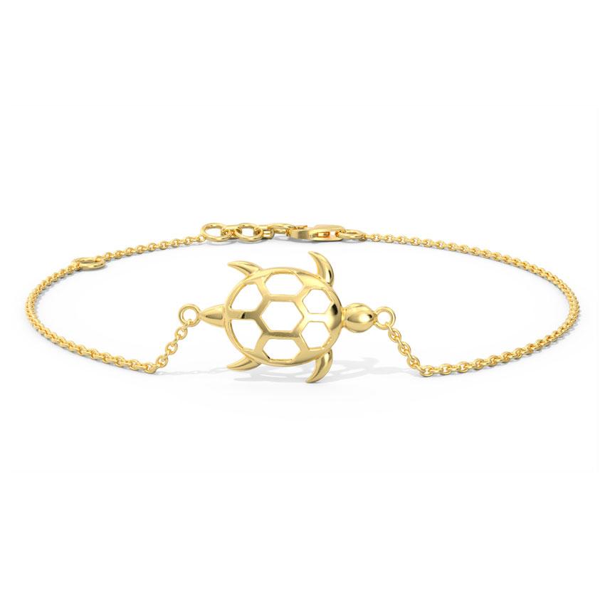 Turtle Gold Bracelet