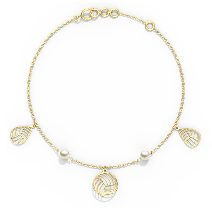 Aisha Cutout Charm Bracelet