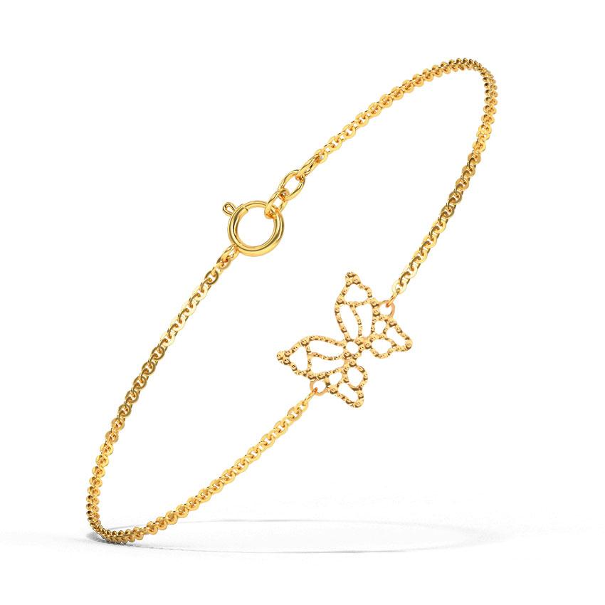 Winsome Butterfly Bracelet