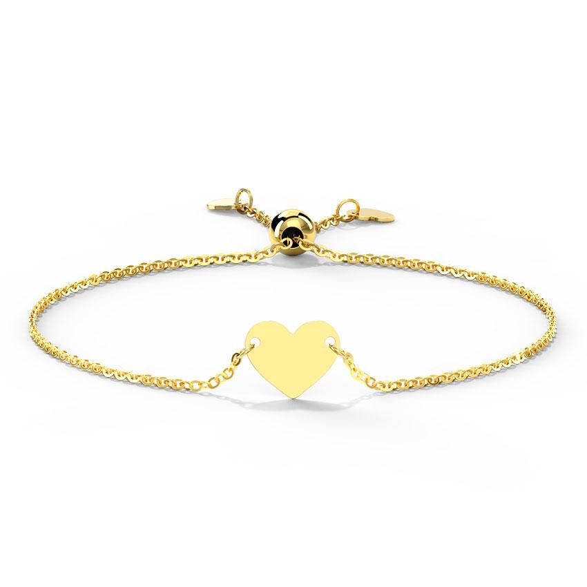 Suave Heart Adjustable Bracelet
