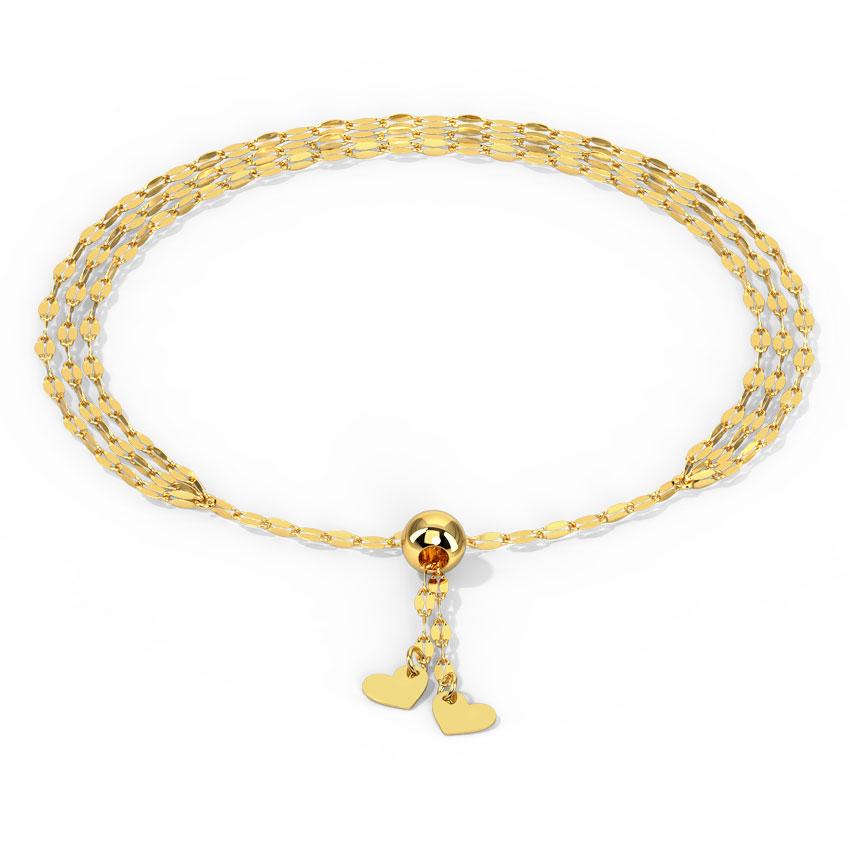 Glowing Link Adjustable Bracelet