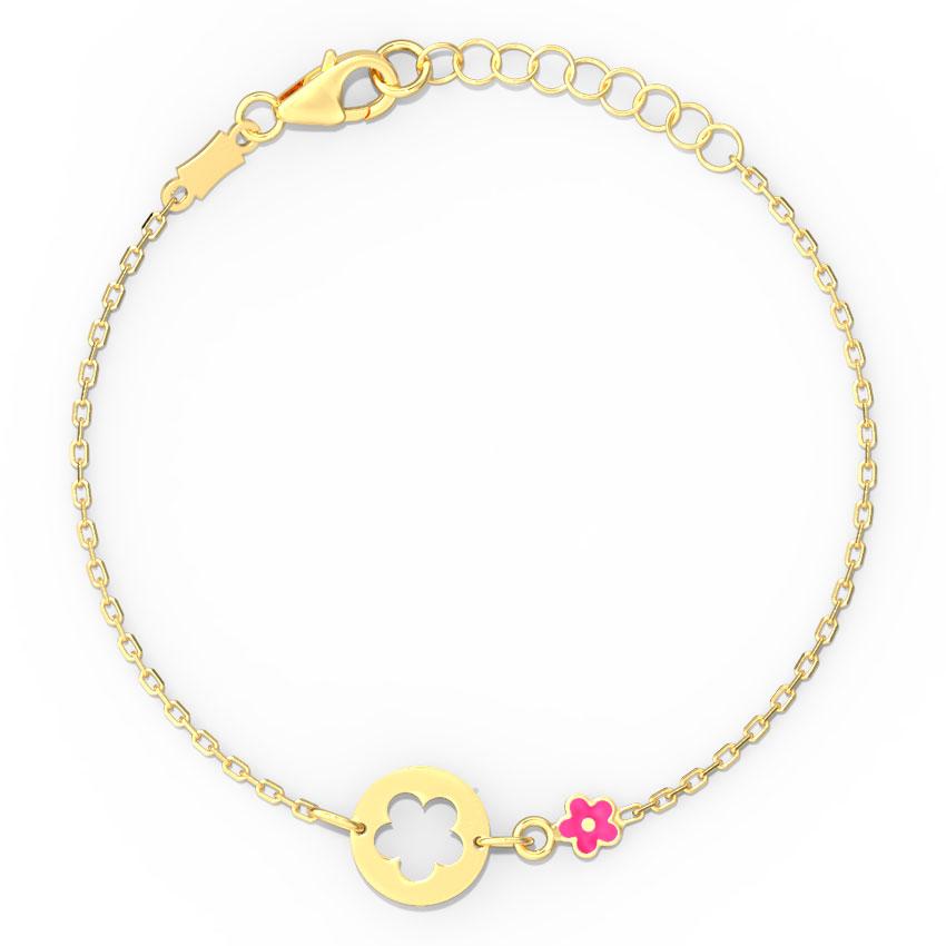 Floret Cutout Kids' Bracelet