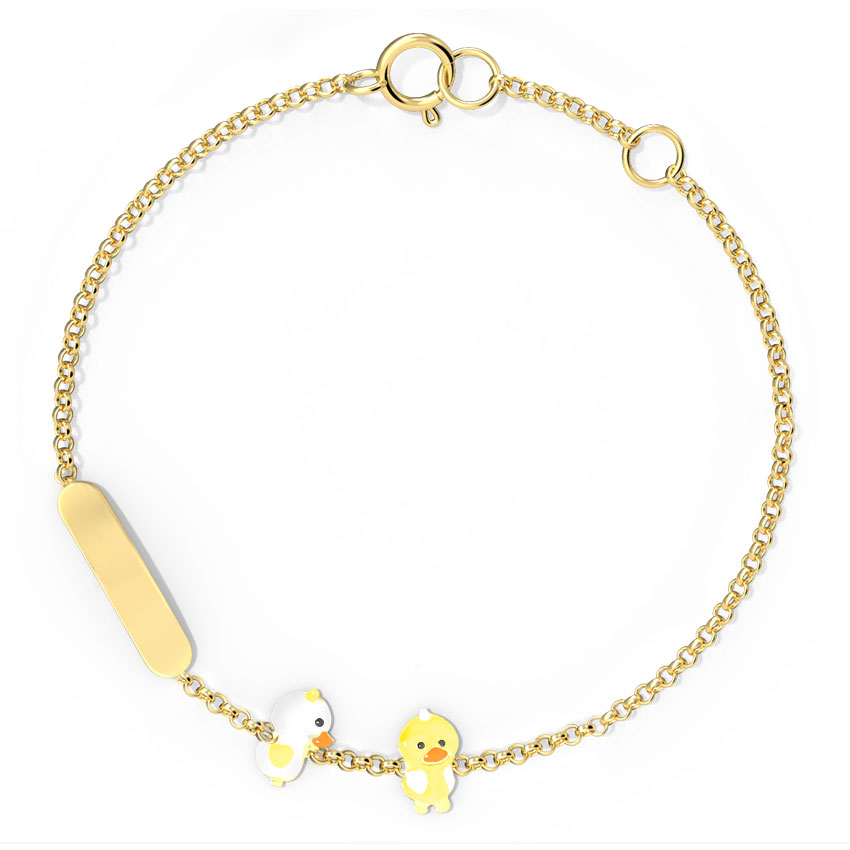 Duckling Personalised Kids' Bracelet