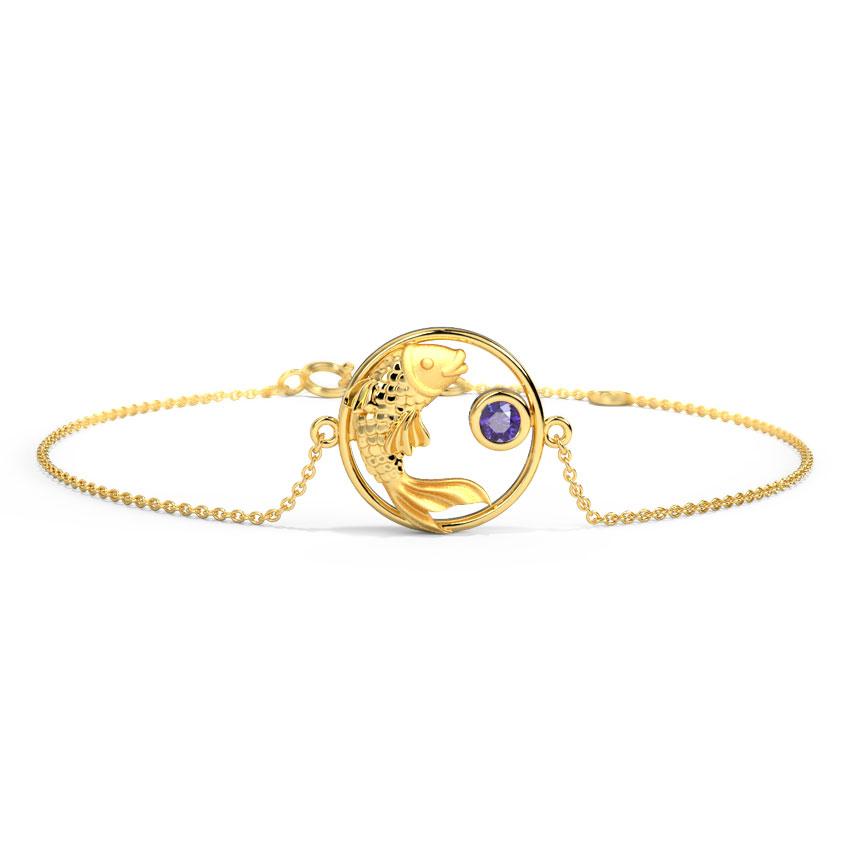 Mystical Pisces Zodiac Bracelet