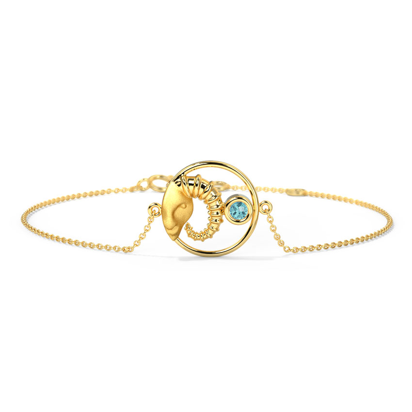 Adventurous Aries Zodiac Bracelet