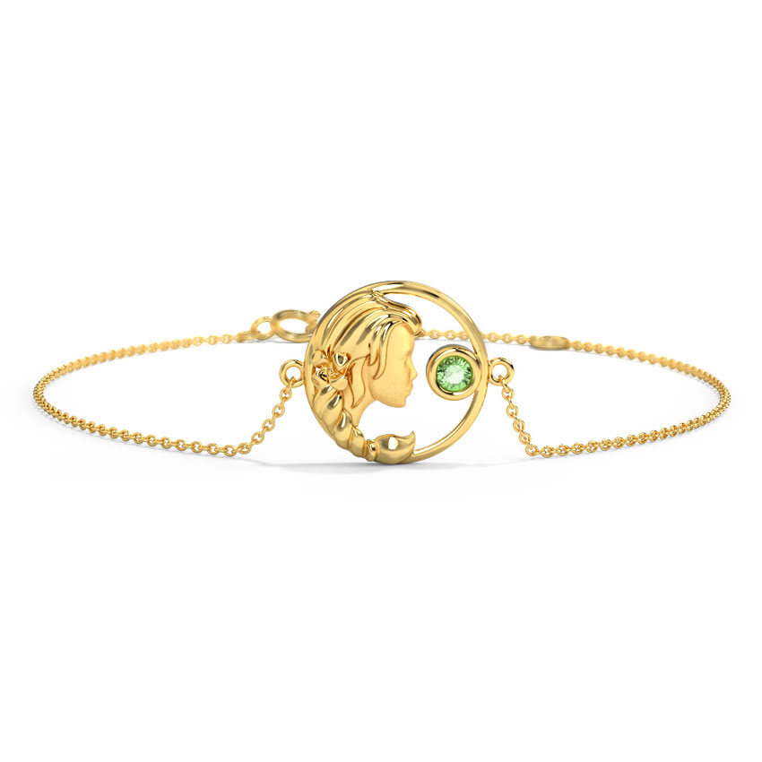 Affectionate Virgo Zodiac Bracelet