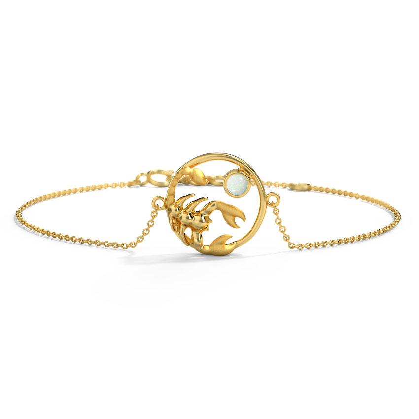 Passionate Scorpio Zodiac Bracelet