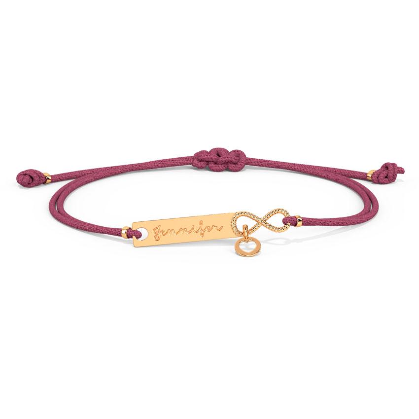 Infinity Personalised Bracelet