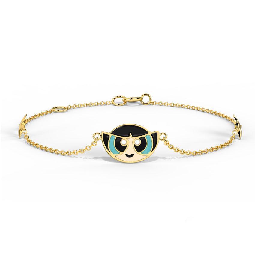 Starry Buttercup Kids' Bracelet