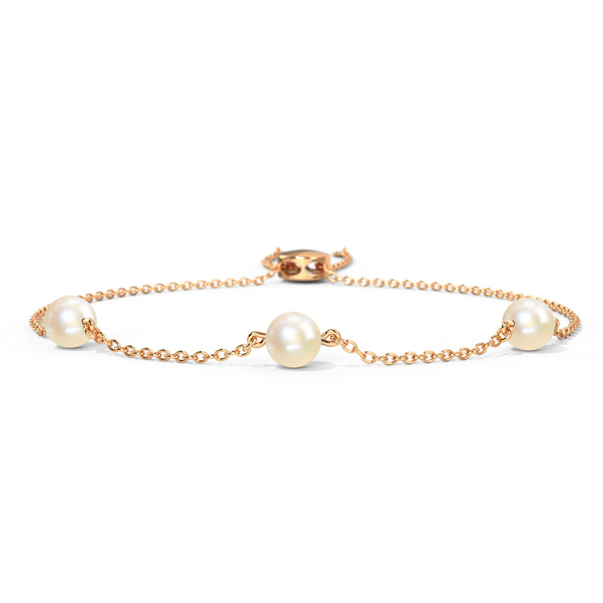 Pearly Glow Adjustable Bracelet