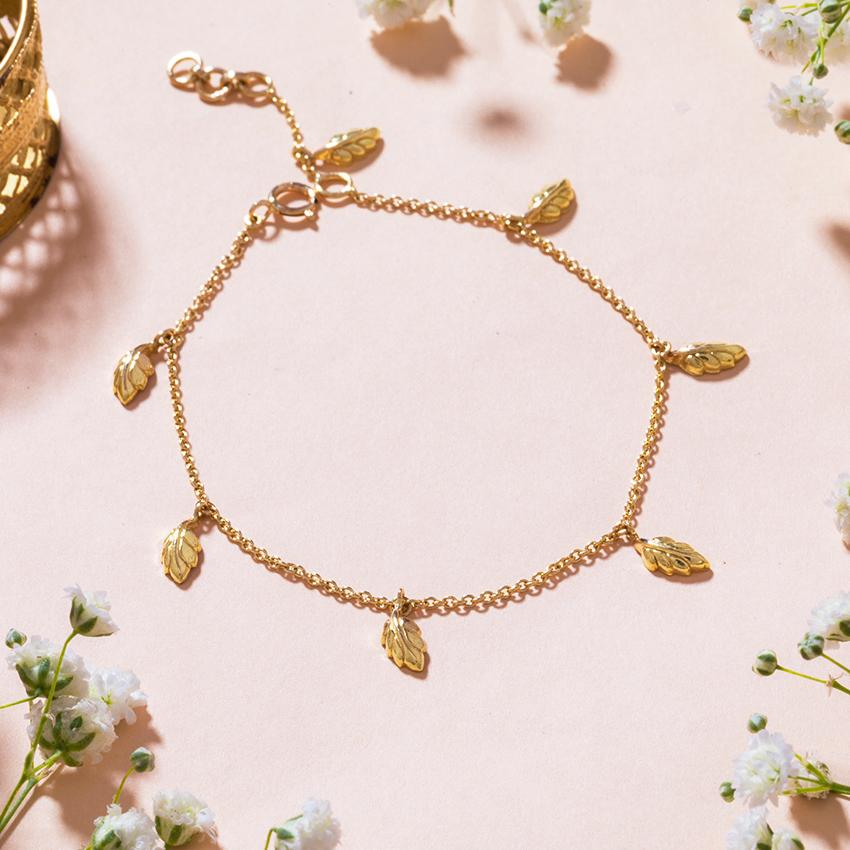Gold Bracelets 18 Karat Yellow Gold Zuri Gold Bracelet