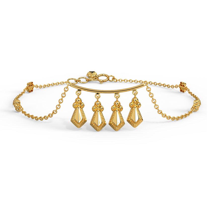 Gold Bracelets 18 Karat Yellow Gold Zenia Gold Bracelet