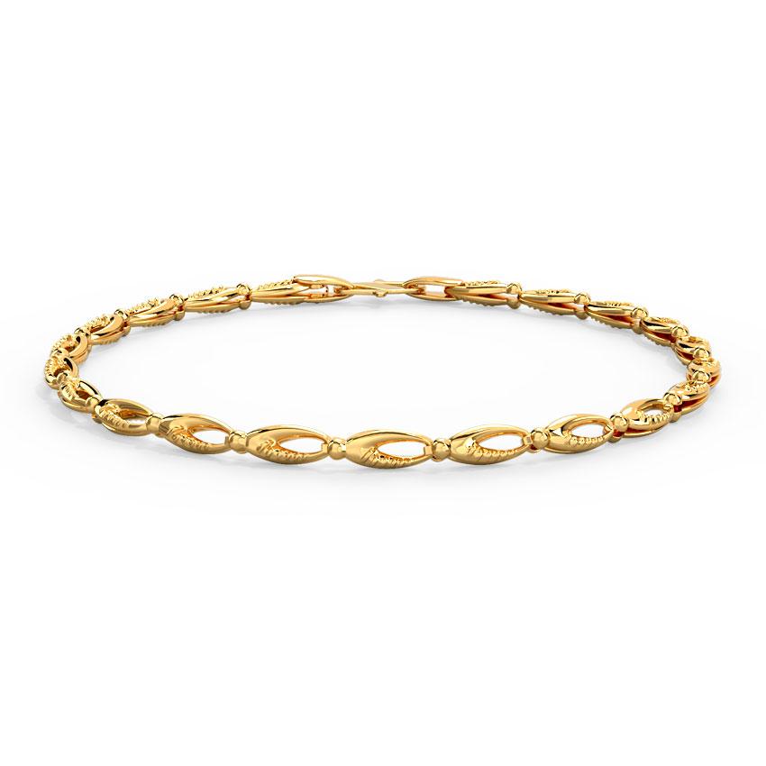 Aahana Gold Bracelet