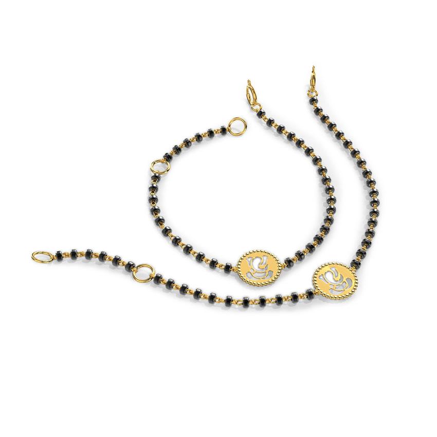 Ganesha Infant Bracelet Set of 2
